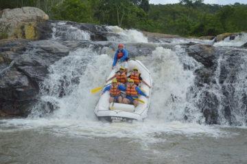 Rafting no Rio Cubatão do Sul