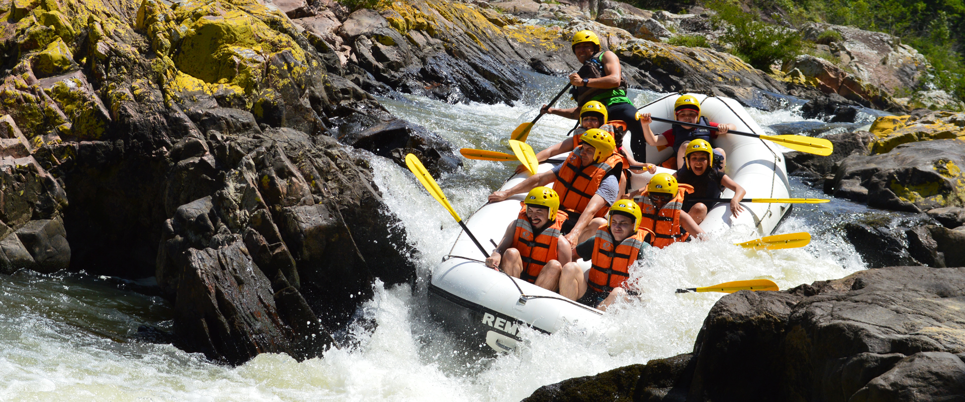 Rafting com a Tartarugas